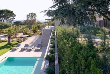 Jardin villa Bellevue